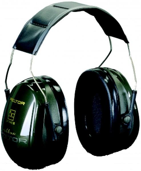 Kapselgehörschutz OPTIME II H520A, grün, 31dB