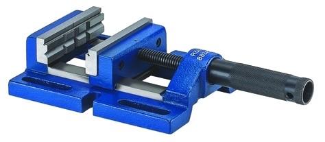Bohrmaschinen-Schraubstock DPV mit Prismen- und Normalbacke