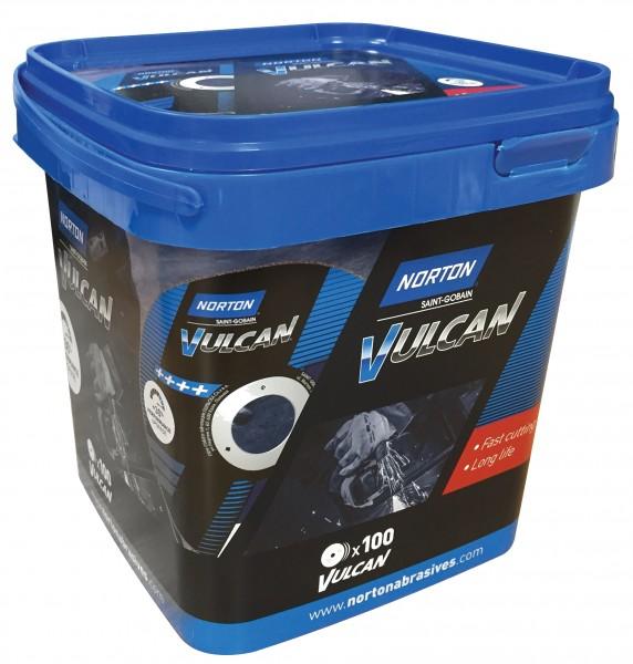 Trennscheibe VULCAN-Box (à 100 Stück) 125 x 1.0 mm
