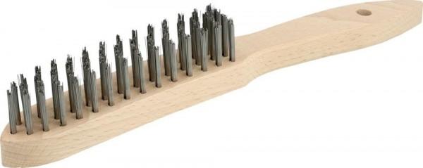 Handstielbürste mit Holzgriff