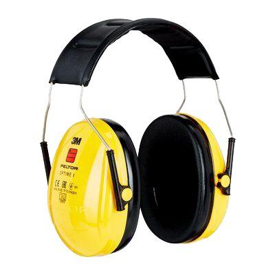 Kapselgehörschutz OPTIME I H510A, gelb, 27dB