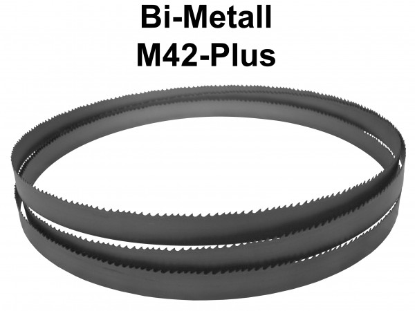 Metallsägeband Bi-Metall M42-PLUS für Voll- u. dickwandiges Material