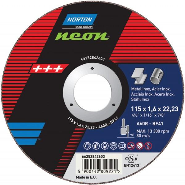 Trennscheibe NEON für Metall/Inox
