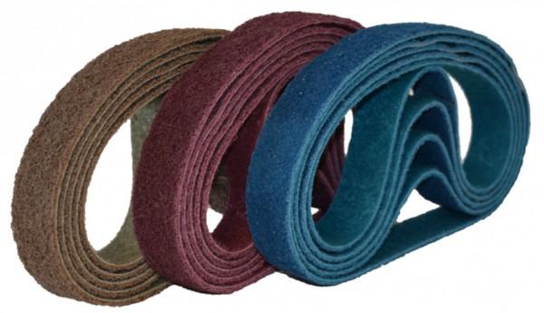Faservliesschleifband 40 x 820 mm für Rohrschleifmaschine Poly-Romy