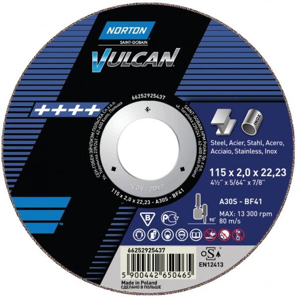Trennscheibe VULCAN für Metall/Inox