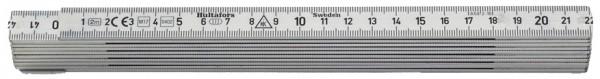Gliedermeter 2 m aus Aluminium