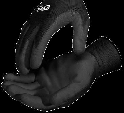 Mikro-Feinstrick-Handschuh