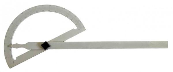 Gradmesser aus Stahl mattverchromt