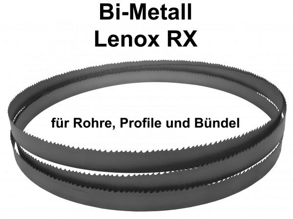 Metallsägeband Bi-Metall M42 Lenox RX für Rohre, Profile und Bündel