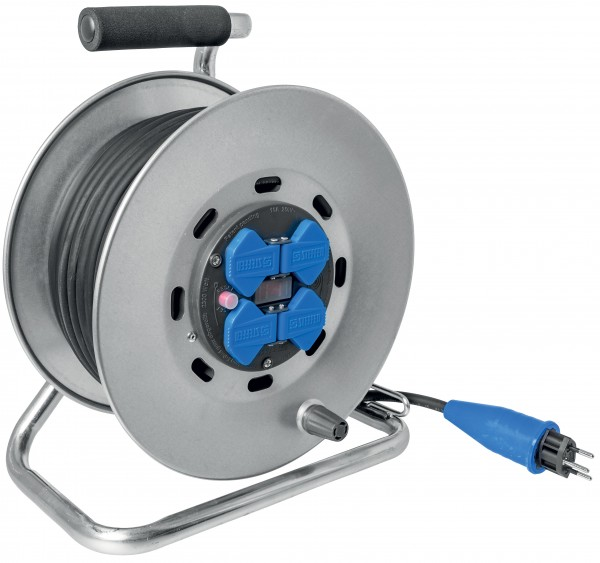 Stahlblech-Kabelrollen mit Gummikabel