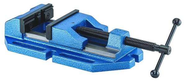 Bohrmaschinen-Schraubstock BOF mit Prismen- und Normalbacke