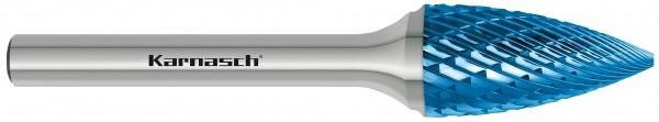 """Hartmetall-Frässtift HP-3 Form """"G"""" Geschossform"""