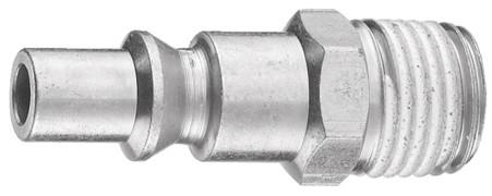 Stecknippel 6 mm mit kon. Aussengewinde ARO210