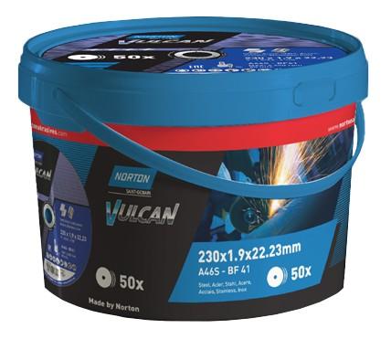 Trennscheibe VULCAN-Box (à 50 Stück) 230 x 1.9 mm