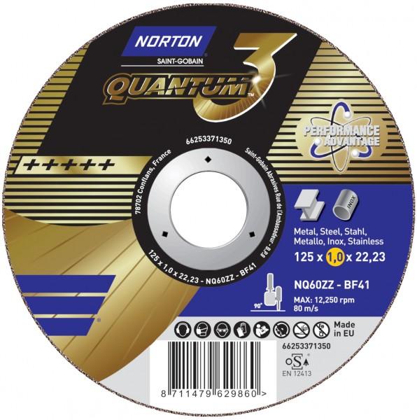 Trennscheibe QUANTUM 3 für Metall/Inox