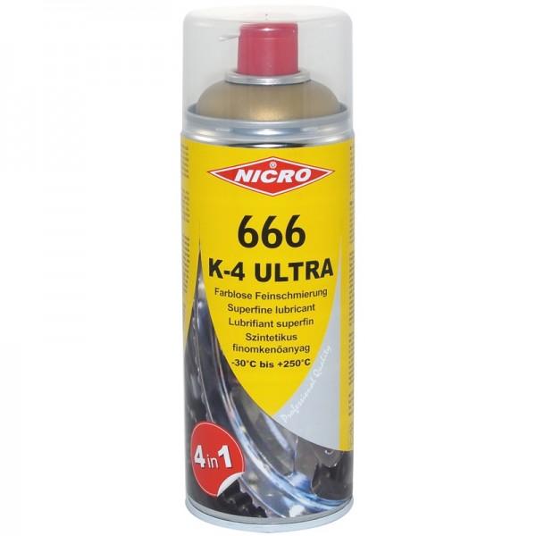 K-4 Ultra Feinschmiermittel NICRO 666