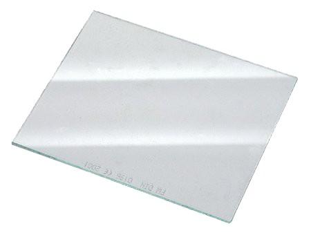 Kunststoff-Vorsatzscheibe farblos, 85 x 110 mm