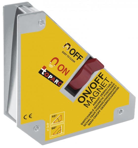 Magnet-Schweisswinkel D36.90 mit Ein-/Aus-Schalter, 111 x 95 x 25 mm, 30 kg